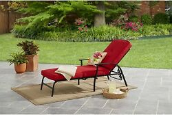Outdoor Patio Pillow Home Pad Chair Cushion Chaise Comfortable Seat Lounge Red