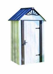 SHER-DSM42-Storboss SBDSM42 Designer Series HDG Steel Storage Shed 4 by 2-Feet