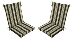 Replacement Patio Cushions Garden Outdoor Patio Chair Cushion Seat Pad Set Of 2
