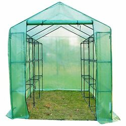 Mini Greenhouse Kit Portable With Shelves Walk In Outdoor Small Garden 4 Tier