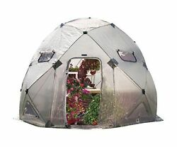 DomeHouse High Pop-Up Portable Greenhouse Home Safe Grow Plant Garden Outdoor