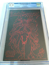 CGC 9.9 MINT LADY DEATH IN LINGERIE #1 RED LEATHER MICRO PREMIUM EDITION 895