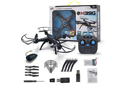 LED RC Drone Quadcopter Automatically TakeOff HD Camera Camcorder WiFi FPV Gyro $75.00