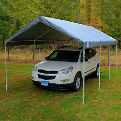 10x20 King Canopy 8-Leg Silver Cover Summer Outdoor Shelter Patio Furniture