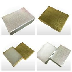 Jewellery gift box available gold or silver measures ext 51 x 38 x 16mm x 1 5 10 GBP 9.80
