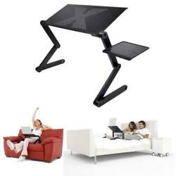 360°Adjustable Foldable Laptop Notebook PC Desk Table Vented Stand Bed Sofa Tray $19.89