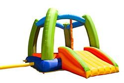Bounce House Outdoor Jumper Slide Set Playground Kids Backyard Playset Free Ship