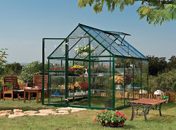 Greenhouse Kits Walk-In 6 x 8 foot Aluminum Polycarbonate Harmony Garden Starter