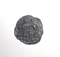 Ancient Roman Empire Urbs Roma Commemorative 333 - 334 AD. She-Wolf and twins
