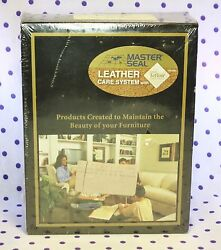 Master Seal LEATHER Furniture Care System Teflon DU-L5-LK01 Cleaner Conditioner