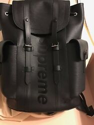 Louis Vuitton x Supreme Backpack Christopher PM