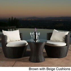 Patio Furniture Sets Wicker Rattan Garden Outdoor Chair Table Bistro Lounge