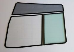 1998 - 2000 Holiday Rambler Endeavor Driver's Cockpit replacement RV windows.
