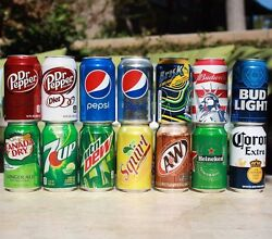 SODA OR BEER CAN 12oz SAFE HIDDEN STORAGE DIVERSION SECRET STASH