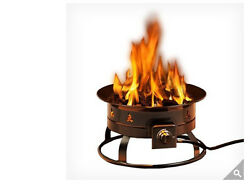 Heininger Portable Propane Outdoor Fire Pit NEW Out Door Lawn Patio Fire Ring