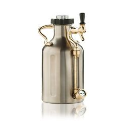 Growler For Beer Stainless Steel 64 Oz Accessories Outdoor Cabin BBQ Home Best