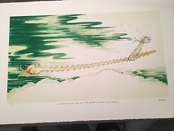 Dr Seuss Sawfish With Such A Long Snout Limited Edition Print $3300.00
