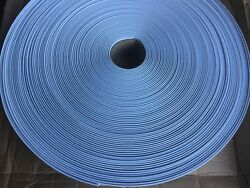 Baby Blue vinyl roll 200 ft strap fence plastic privacy lawn chairs straps