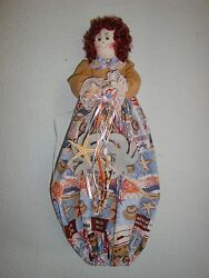 Beach Theme PlasticGrocery Bag HolderDispenserhandcrafted-She Shed-Nautical