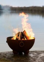 Nepal Electronic Fire Pit with Brass Burner - NG
