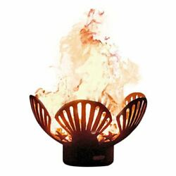 Barefoot Beach Electronic Fire Pit with Brass Burner - LP