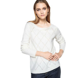 La Redoute Collections Womens JumperSweater With Button Back Br  Beige M