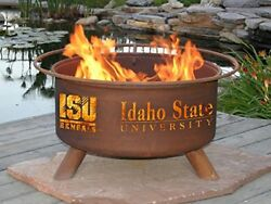 Rust F12 Idaho State Fire Pit Pits These Collegiate Grilling Before Big Also