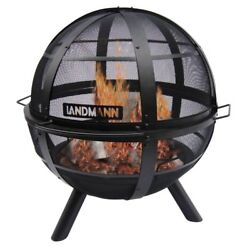 NEW Landmann Ball O' Fire with 30 Inches Steel Bowl And Including Cover