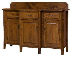 Amish Transitional Dining Room Sideboard Server Solid Wood Candice 61