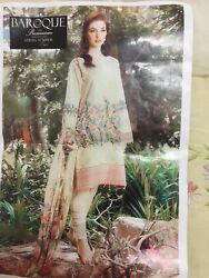 Pakistani Unstiched Designer Clothes