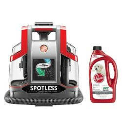 Hoover Carpet Cleaner Red Pet Outdoor Cleaning Kit Tool Machine Indoor Home