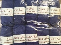 DEBBIE BLISS CASHMERINO SUPER CHUNKY SOLD AS A BUNDLE ONLY (10 SKEINS)