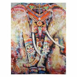 Indian abstract Elephant best quality art Canvas Home decor wall arts printing AU $38.90