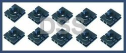Genuine Smart Fortwo 451 Exterior Side Sill Panel Clips Trim (x10) 0009912098 $9.99