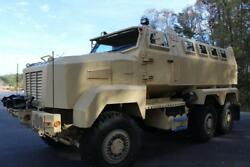 CUSTOMIZED MILITARY VEHICLE BUILT ON A 6X6 CAIMAN CHASSIS $248500.00