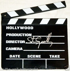 STEVEN SPIELBERG HAND SIGNED AUTOGRAPHED CLAPPER BOARD! RARE! WITH PROOF+C.O.A.!