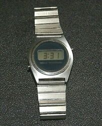 National Semiconductor Men#x27;s Watch Accurate Time Collectible $99.00