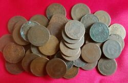 (1) Early U.S. Two Cent CULL Coin  2 Cent Piece  1864-1873  Old Antique Money