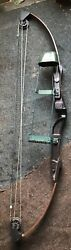Vintage Bear Blacktail Hunter Compound Bow Archery Bow amp; Arrow Bowhunting Deer $100.00