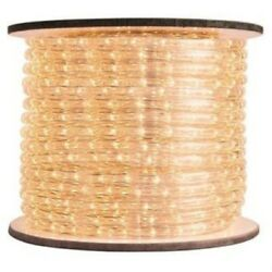 Queens of Christmas C-ROPE-LED-WW-1-10-12V Spool of 12 Volt LED Rope Light 150'