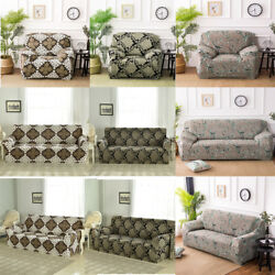 Stretch Slipcover Home Sofa Couch Elastic Cover 1 2 3 4 Seater Chair Loveseat