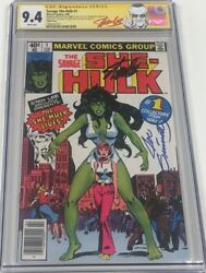 Savage She Hulk #1 Signed Stan Lee & Sketched by Joe Sinnott CGC SS Triple Cover