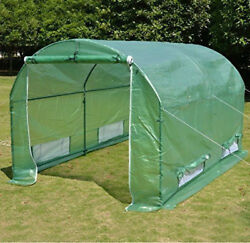 Hot Green House 10'x7'x6' Larger Walk In Outdoor Canopy Gazebo Plant Cover Only