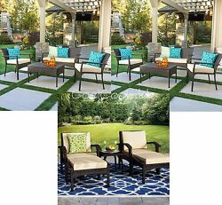 Brown Resin Wicker 13 Piece Patio Leisure Set Outdoor Home Furniture Ottomans