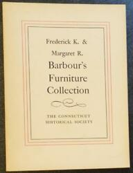 American Colonial ChairTableChestBedFurniture Catalog Barbour CT Collection