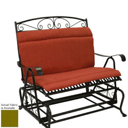 Patio Furniture Cushions For Glider Avocado Replacement Set Chair Seat Outdoor
