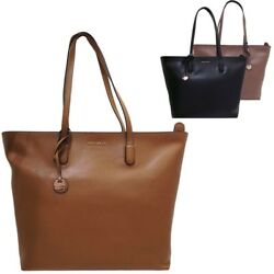 Coccinelle Shopping bag online Clementine in saffiano leather AF5110301