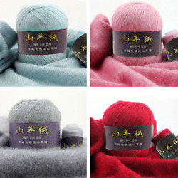 20*(50+20)g lot Solid Color Crochet Thread Top Quality Warm Cashmere Wool Yarn