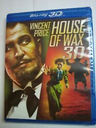 House of Wax (Blu-ray 2D & 3D 2013) NEW Vincent Price