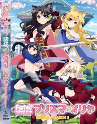 DVD Fate Kaleid Liner Season 1-Seaon 3 ENGLISH Dubbed All Region FREE SHIP